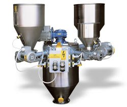 Системы объемного дозирования и смешивания для гранул серии DMIX (Италия) Engin Plast
