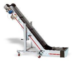 Ленточные конвейеры из алюминия с переходом плоскости серии NC-NS (Италия) New Omap