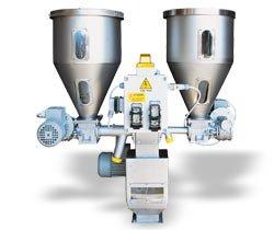 Системы объемного дозирования и смешивания для гранул серии DMT (Италия) Engin Plast