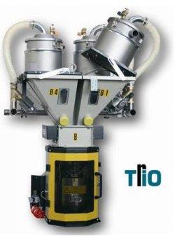 Системы весового дозирования и смешивания для гранул серии TRIO (Италия) New Omap